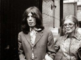 Cool couple: Marianne Faithfull & Mick Jagger