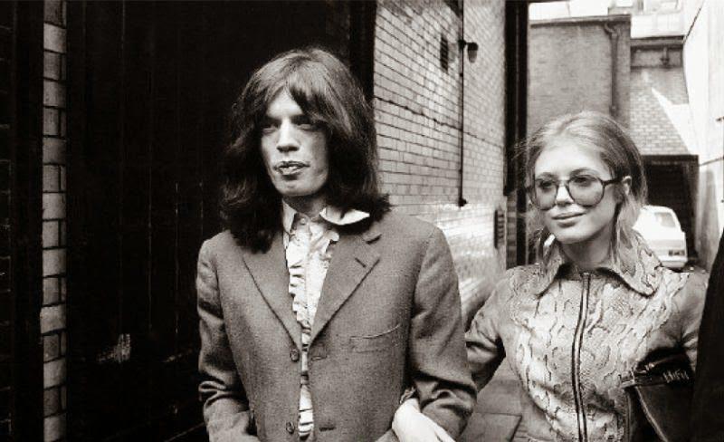 Marianne Faithfull & Mick Jagger (6)