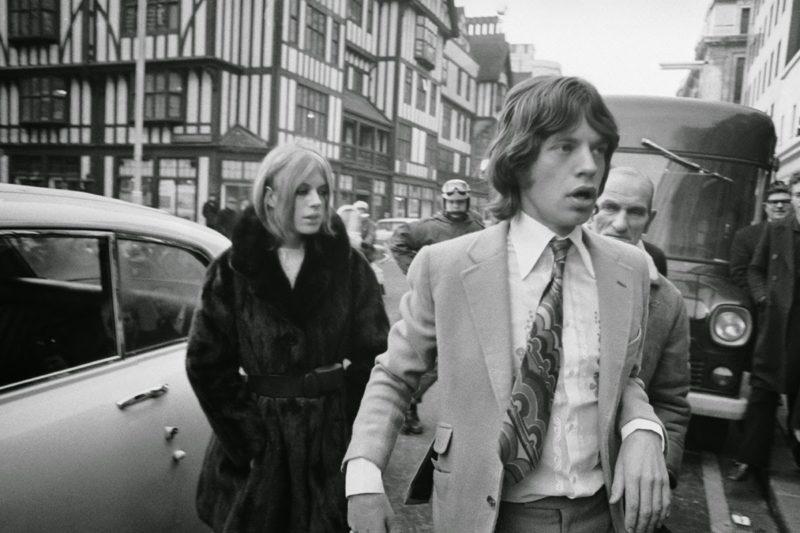 Marianne Faithfull & Mick Jagger (7)