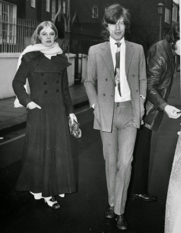 Marianne Faithfull & Mick Jagger (9)