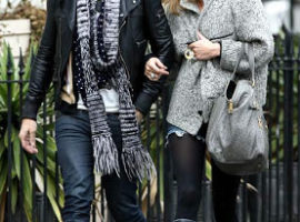 Cool couple: Kate Moss/Jamie Hince