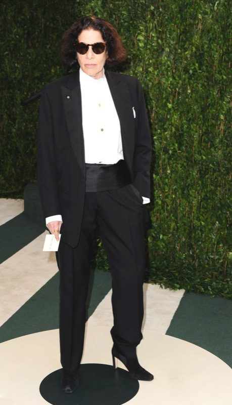 WEST HOLLYWOOD, CA - FEBRUARY 26: Author Fran Lebowitz arrives at the 2012 Vanity Fair Oscar Party hosted by Graydon Carter at Sunset Tower on February 26, 2012 in West Hollywood, California. (Photo by Pascal Le Segretain/Getty Images)
