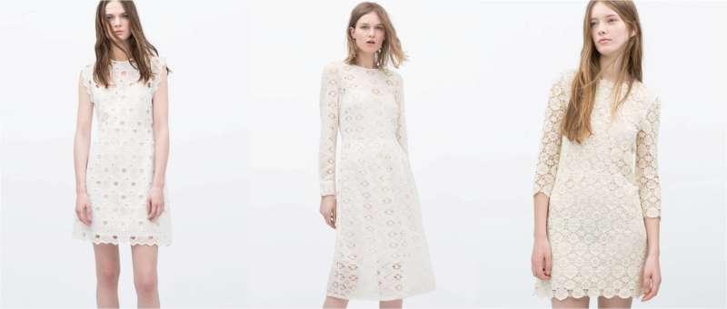 white dresses Zara