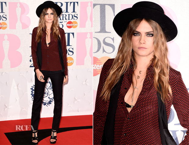 Cara-Delevingne-In-Saint-Laurent-2015-Brit-Awards
