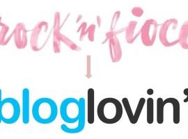 Sono su Bloglovin!