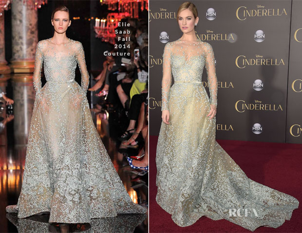 Lily-James-In-Elie-Saab-Couture-Cinderella-LA-Premiere