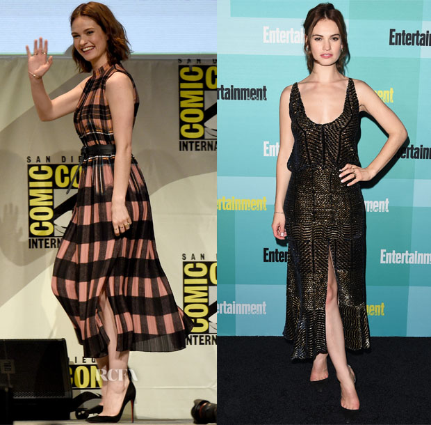 Lily-James-In-Victoria-Victoria-Beckham-Altuzarra-Pride-and-Prejudice-and-Zombies-Panel-Entertainment-Weeklys-Annual-Comic-Con-Party