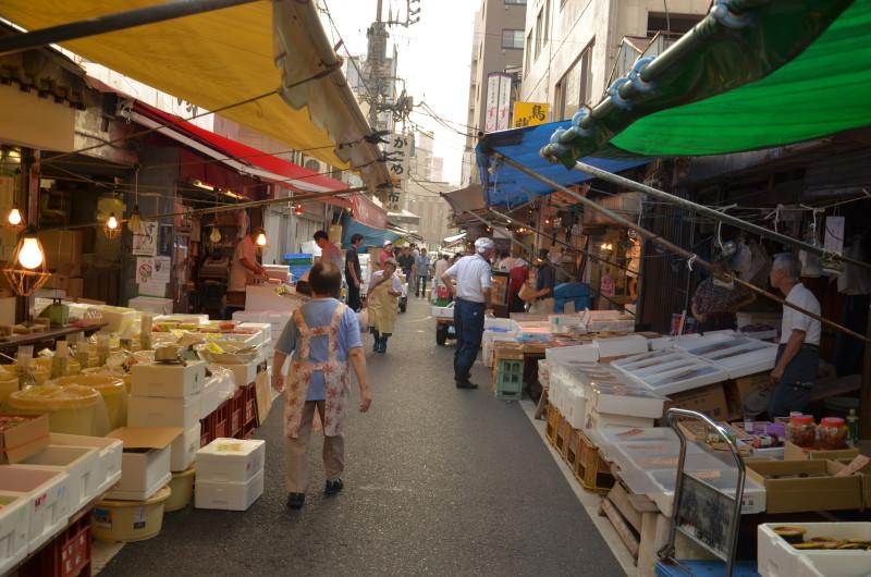 11 mercato del pesce di Tokyo