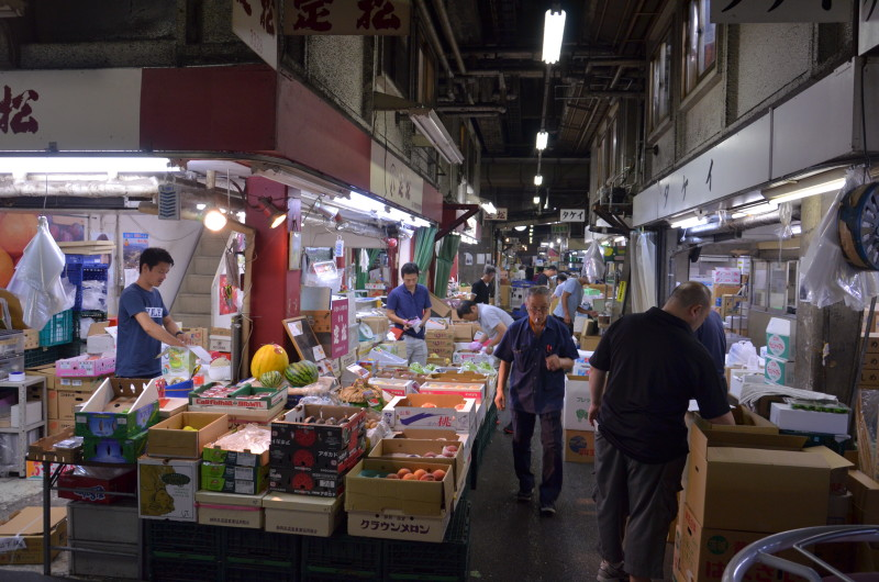 9 mercato del pesce di Tokyo