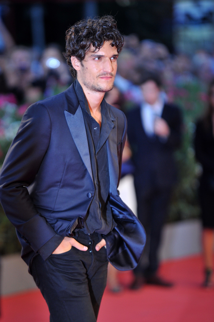 "French actor Louis Garrel arrives for the screening of ""La Jalousie"" presented in competition at the 70th Venice Film Festival on September 5, 2013 at Venice Lido. AFP PHOTO / TIZIANA FABI (Photo credit should read TIZIANA FABI/AFP/Getty Images)"