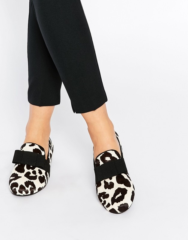 senso desiree pony effect flat shoes