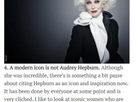 A modern icon