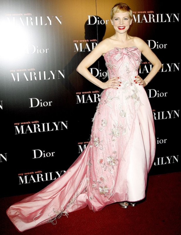 michelle williams in dior