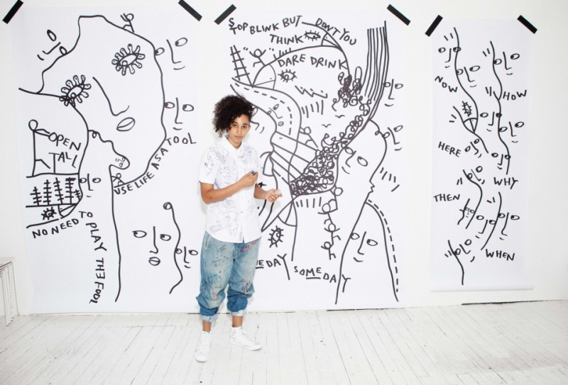 Shantell Martin Draws on Every