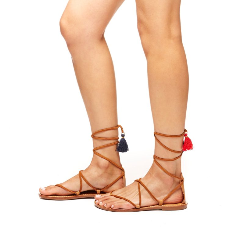 Soludos gladiator leather