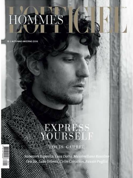 COVER-LOfficiel-Hommes-FW-2016-Louis-Garrel-in-Valentino