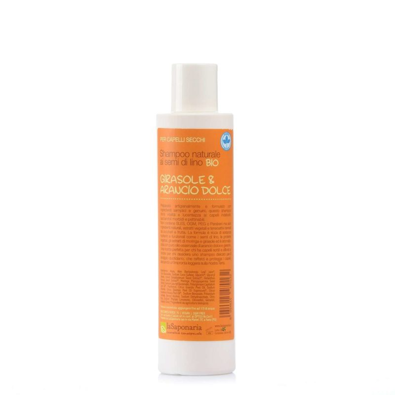Saponaria-Shampoo-Girasole-Arancio-200ml-76264
