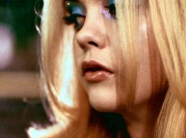 Blue eyeshadow in movies
