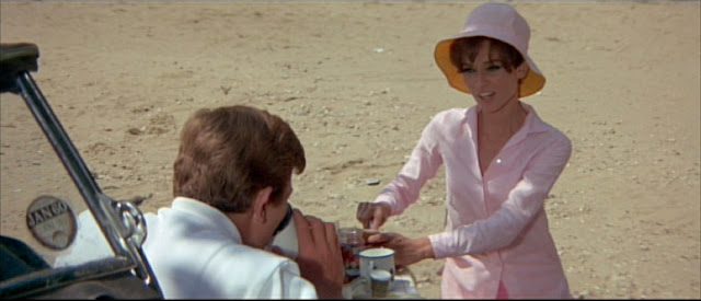 Audrey Hepburn + Two for the Road newlywed pink