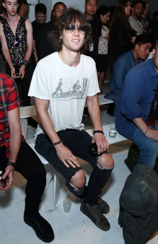 NEW YORK, NY - JULY 13: Singer Cobi Mike attends Rochambeau - Front Row - New York Fashion Week: Men's S/S 2017 at Skylight Clarkson Sq on July 13, 2016 in New York City. (Photo by Astrid Stawiarz/Getty Images)