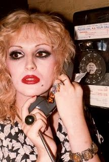 Candy Darling colour in costume for Tennessee Williams's Small Craft Warnings