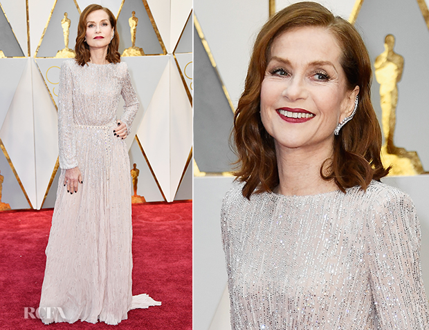 Isabelle-Huppert-In-Armani-Prive---2017-Oscars