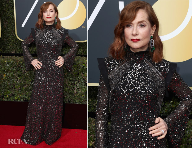 Isabelle-Huppert-In-Chloe-2018-Golden-Globe-Awards