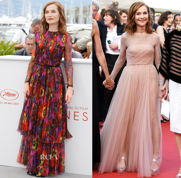 Isabelle-Huppert-In-Gucci-Christian-Dior-Happy-End-Cannes-Film-Festival-Photocall-Premiere