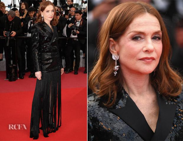 Isabelle-Huppert-In-Saint-Laurent-Sink-Or-Swim-Le-Grand-Bain-Cannes-Film-Festival