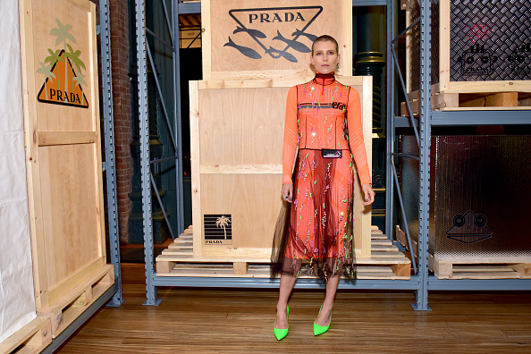 NEW YORK, NY - SEPTEMBER 08: Dree Hemingway attends the Prada Linea Rossa event at Prada Broadway, NY on Sept. 8, 2018. (Photo by Sean Zanni/Getty Images)