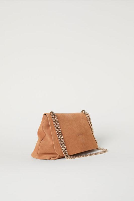 suede shoulder bag h&M
