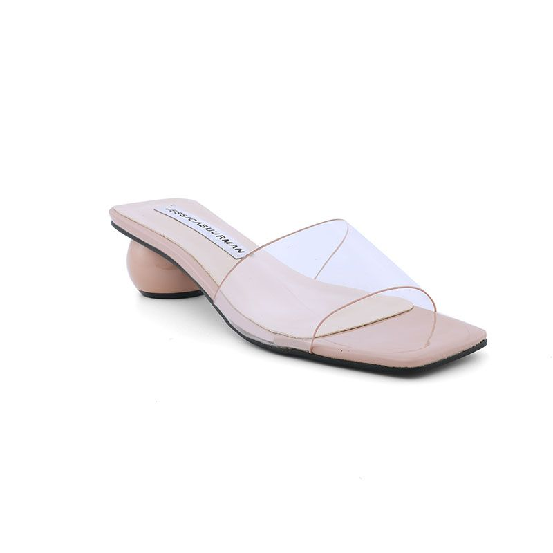2-PERLE-pvc-round-heel-mules-sandals-Pink-jessica-buurman-street-style-shoes
