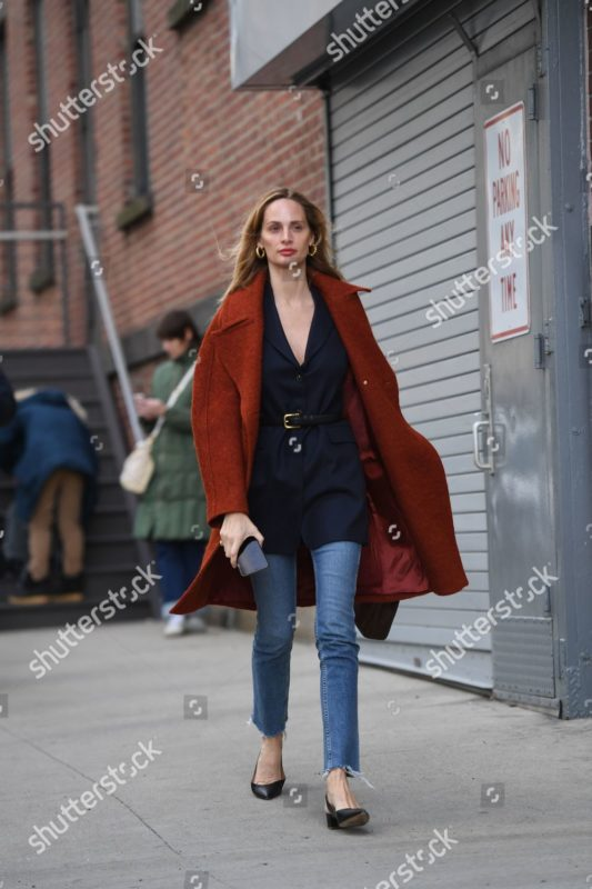 Mandatory Credit: Photo by Shutterstock (10101257hi) Lauren Santo Domingo Street Style, Fall Winter 2019, New York Fashion Week, USA - 10 Feb 2019