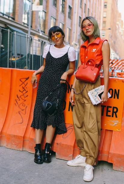 gwhx8p-l-610x610-dress-clara+cornet-blogger-streetwear-streetstyle-midi+dress-ankle+boots-ny+fashion+week+2016-